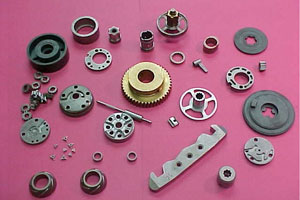 iron, stainless steel powdered metal structural parts